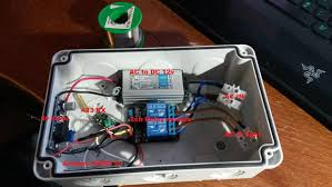 Outdoor Timer For Lights by Ac Light 433 Mhz Radio Controlled Timer With Arduino 5 Steps