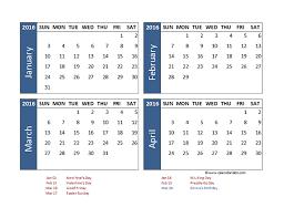 fillable calendar excel