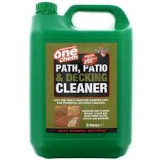 Doff Patio Cleaner Concentrated One Chem Path Patio U0026 Decking Cleaner Amazon Co Uk