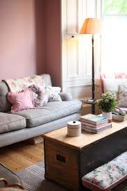 Wohnzimmer Ideen Privat Wohnzimmer Mit Individuellem Charakter Und Wandfarbe Altrosa