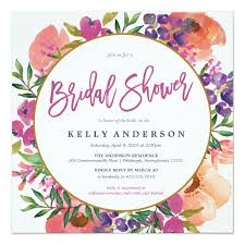bridal shower invitation floral bridal shower invitations bridal shower invitation