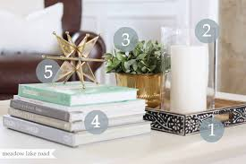 Style A Coffee Table Modern How To Style A Coffee Table The Everygirl Table