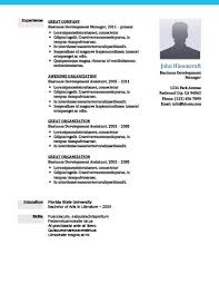 Experienced Resume Template Modern Resume Templates 64 Examples Free Download