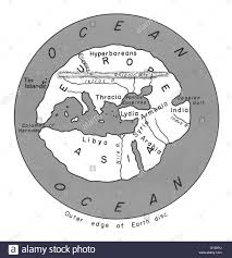 Map Of The Mediterranean The World As Hippocrates Knew It Map Of Hecataeus Represents The