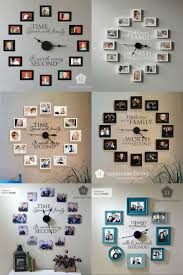 Picture Frame Wall by Best 25 Family Wall Photos Ideas On Pinterest Galleries Photo