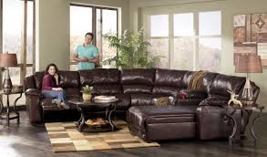 Sectional Sofa With Chaise And Recliner Sofa Satisfactory Leather Sectional Sofa With Chaise And