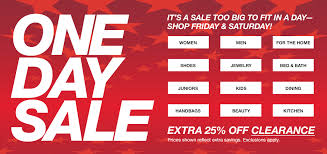 enjoy late breaking specials at the macy s one day sale