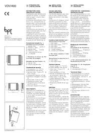 bpt installation instructions