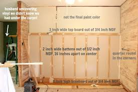 how to install board and batten and what u0027s next for the living room
