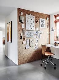 uma parede de cortiça para escritório ou ateliê minha casa