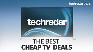 amazon 50 inch tv 200 black friday seiki the best cheap 4k tv deals in october 2017 techradar
