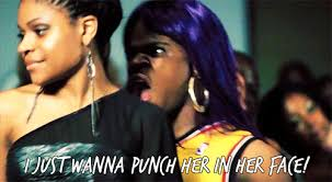 She Ratchet Meme - funny purple violence she ratchet ep i just want to punch her in her