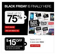 staples black friday online black friday emails get creative listrak insights retail
