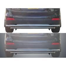 lexus rear bumper 13 17 hyundai santa fe rear bumper guard double layer s s