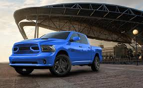 Ram 1500 Sport Interior Ram Unveils Hydro Blue 1500 Sport Special Edition Truck Ny Daily