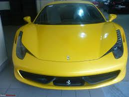 Ferrari 458 Yellow - pics ferrari 458 italia looks great in metallic yellow team bhp