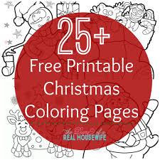 christmas coloring sheet free printable holiday themed printable