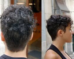 curly shaved side hair 20 gorgeous wavy and curly pixie hairstyles short hair ideas