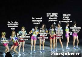 Snsd Funny Memes - random kpop memes what are they doin