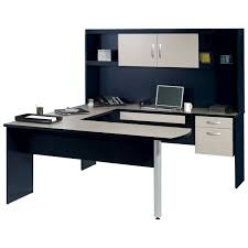 Metal Computer Desk With Hutch by Furniture U Shaped Desk With Hutch For A Productive Working