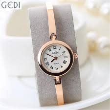 silver bracelet watches images Ladies watch stainless steel gedi brand rose gold silver bracelet jpg