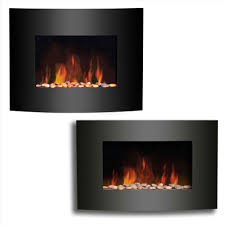 wall hung electric heaters best electric fireplace heater home