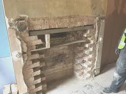 fireplace cool remove brick fireplace on a budget interior