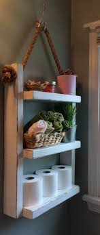 Towel Shelves For Bathroom 9 Great Towel Storage Ideas On Your Rest Room Wooden Ladder