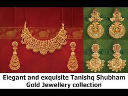 and exquisite tanishq shubham gold jewellery collection