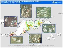 hurricane irma initial aerial damage assessment 09sep17 british