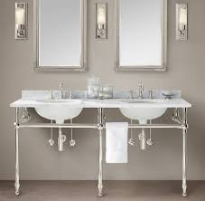 vessel sinks apothecary single sink console inch mason console24