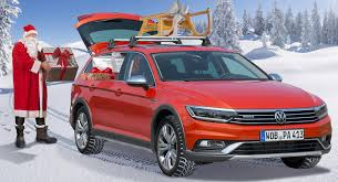 reindeer ears for car santa claus ditches sleigh and reindeer for vw passat alltrack