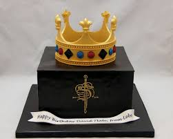 3d cake 3d box cake with crown topper for david tlale cake in cup ny