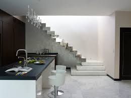 Free Standing Stairs Design Open Staircase Railing Living Room Modern With Open Floor Plan
