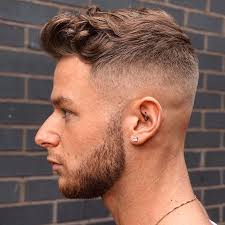 Temp Fade Haircut With Curls 100 Cool Short Haircuts For Men 2017 Update