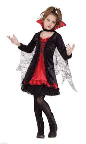 party city halloween costume return policy child girls vampire lace vampiress goth gothic dress black red