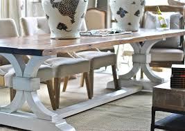 Trestle Dining Room Table by Lucia