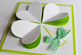 greeting card how to make st s day greeting card step by step
