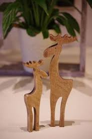 Reindeer Decorations For Christmas Nz by Plywood Reindeer Christmas Decorations Xmas Ply Timber Deer
