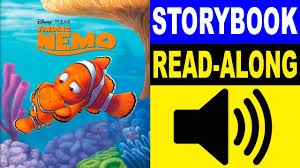 Finding Nemo Story Book For Children Read Aloud Finding Nemo Read Along Story Book Finding Nemo Storybook Read