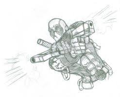 pencil drawing of patrick as deadpool by atomiccircus on deviantart