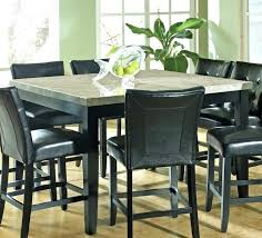 high dining room table with bench black round sets and gray