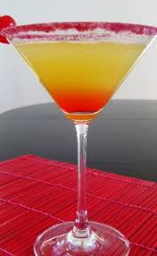 pineapple upside down cake martini cocktails anyone