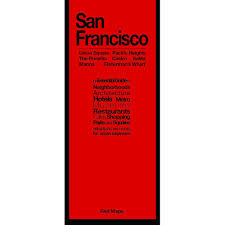 City Sightseeing San Francisco Map by San Francisco City Guide By Red Maps