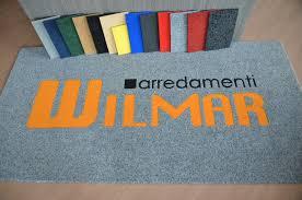 tappeti personalizzati on line zerbini personalizzati arredamenti wilmar