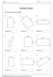 les 25 meilleures idées de la catégorie perimeter of rectangle sur