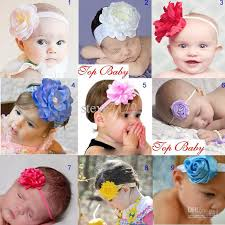 baby hair ties baby headband flower baby hairbands infant hair tie girl