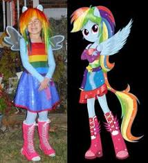 Rainbow Dash Halloween Costume Rainbow Dash Equeestria Girls Cosplay Bing Images Halloween