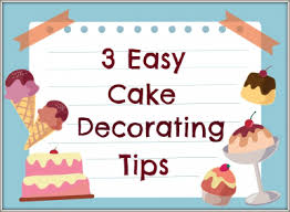 Simple Cake Decorating 3 Easy Cake Decorating Tips For Beginners