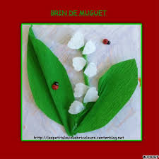 Bricolage brin de muguet  Gite pompadour lubersac